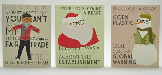 Available at http://www.etsy.com/listing/86227536/hipster-christmas-series
