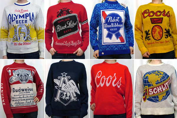 Beer Christmas Sweater.Vintage Beer Sweaters Hipsterapproved Net