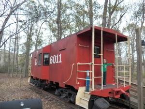 KOA caboose