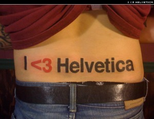 helvetica-tattoo
