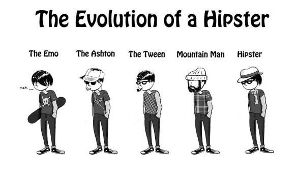 It's been kinda slow in the Hipster news lately...~HipsterApproved.net
